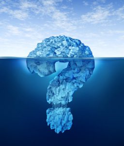 customer success questions tip of iceberg