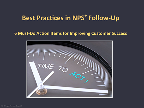 Net Promoter Score Action Plan