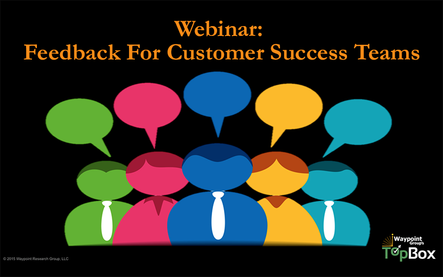 Feedback for Customer Success Teams Webinar
