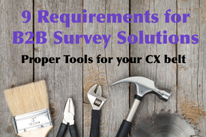 b2b survey solutions