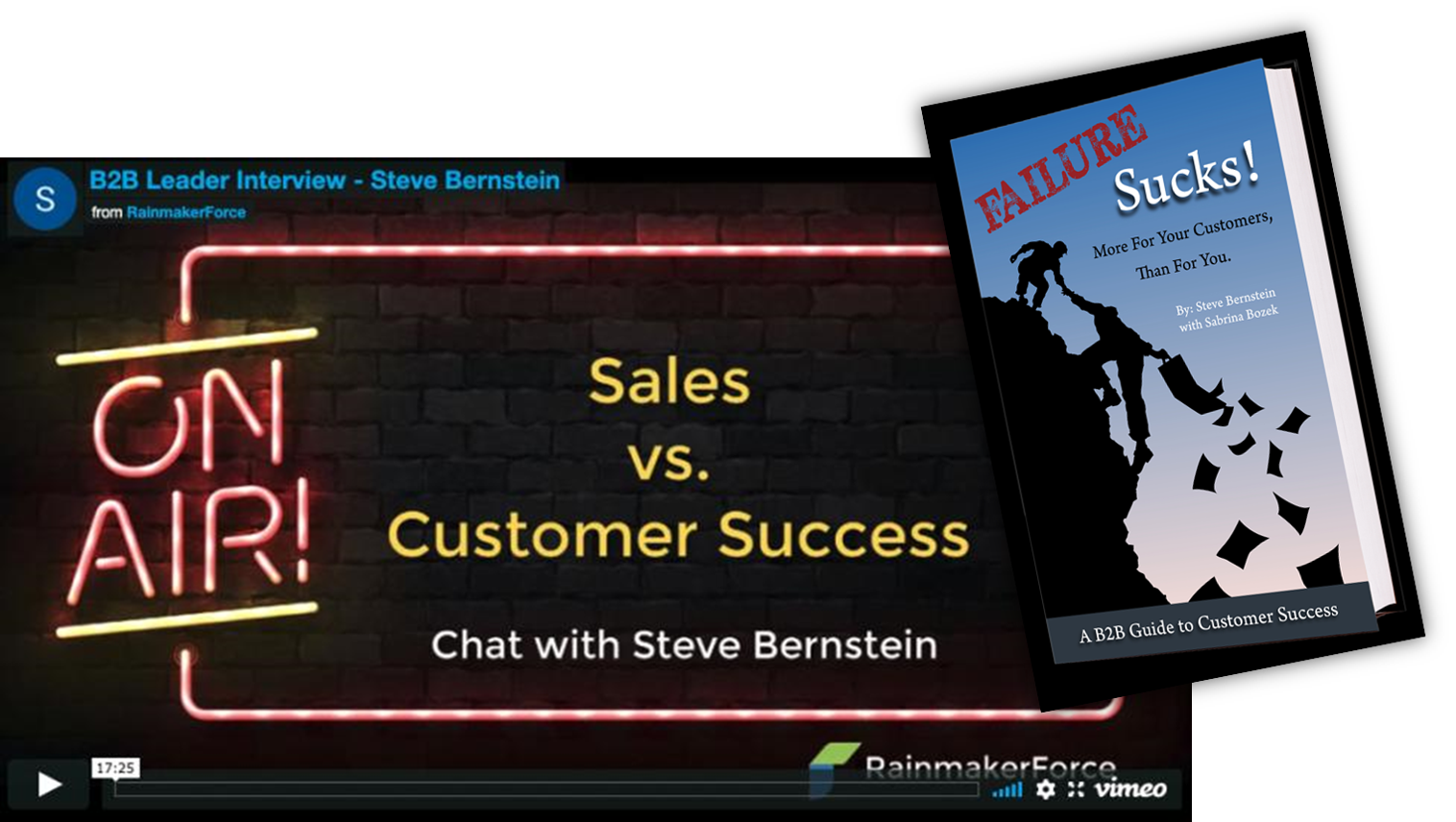 Sales + Customer Success = Accelerated Growth.  Let's talk about how.